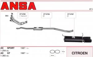 Citroen AX Sport + GT ANSA