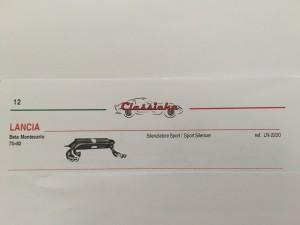 ANSA Lancia Beta Montecarlo LN 2220